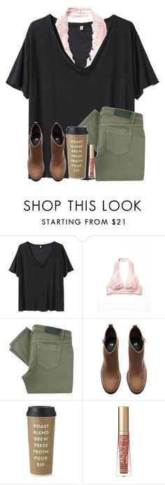"""qotd: who is your favorite cousin?"" by madiweeksss ❤ liked on Polyvore featuring R13, Free People, Victoria Beckham, H&M, Kate Spade and Too Faced Cosmetics"