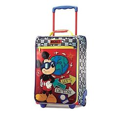 American Tourister Disney 18 Inch Upright Soft Side Mickey One Size