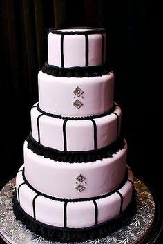 Hollywood Glam Cake