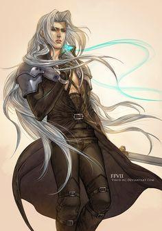 Sephiroth by Virus-AC on DeviantArt