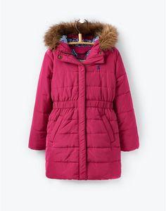 JNRMERRYDALEPadded Longline Coat