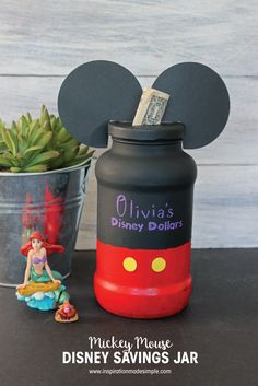 DIY Mickey Mouse Dis