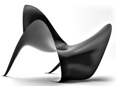Manta – futuristic chair by MASTelements