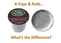 The Difference Between K-Cups & Coffee Pods    http://blog.coffeecow.com/2012/09/k-cups-and-pods-is-there-difference.html