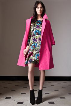 Temperley London Pre Fall 14, Lina Dress, Palais Trench Coat
