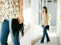 Estilista de jeans e sarja Carol Cunha
