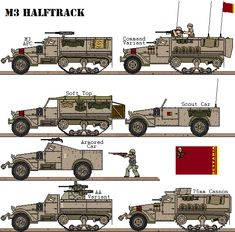 Locally produced variants of the halftrack. Military Gear, Military Weapons, Military Equipment, Military History, Army Vehicles, Armored Vehicles, Military Divisions, Combat Armor, Steampunk Weapons