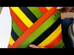 घर ही बनाए प्यारा सा कुशन कवर || How to make Cushion Cover cutting and stitching - YouTube Cushion Cover Designs, Sofa Cushion Covers, Pillow Covers, Hand Embroidery Videos, Hand Embroidery Stitches, Dress Sewing Patterns, Textile Patterns, Sewing Hacks, Sewing Projects