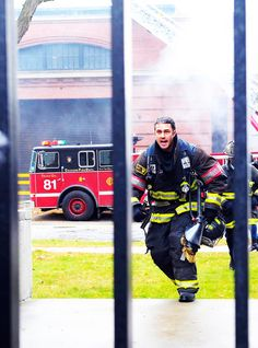 Kelly Severide played by Taylor Kinney