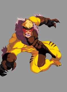 chalyward's sabretooth by =TovioRogers