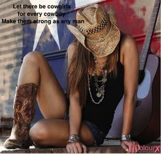 Let there be cowgirls...
