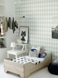 mint green toddler's room