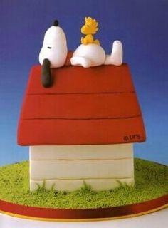 Snoopy y Woodstock...