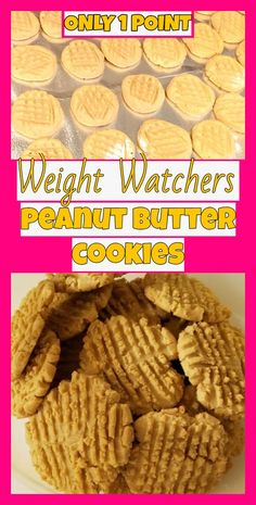 Weight watchers peanut butter cookies Weight watchers peanut butter cookies Quick and easy little flourless peanut butter cookies with just 1 WW Point each! Weight Watcher Desserts, Weight Watchers Snacks, Weight Watcher Dinners, Weight Watcher Cookies, Plats Weight Watchers, Weight Watchers Smart Points, Weight Loss, Weight Watchers Products, Vegetarian Recipes