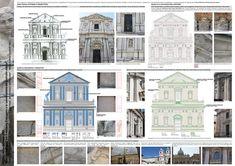 tesi di laurea in restauro architettonico, Rome, Marta Cristina Ceccarelli