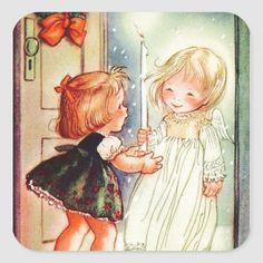 Vintage Christmas Images, Old Christmas, Retro Christmas, Christmas Pictures, Christmas Angels, All Things Christmas, Vintage Cards, Vintage Postcards, Diy Crafts Vintage