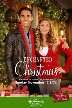 "Its a Wonderful Movie - Your Guide to Family and Christmas Movies on TV: Enchanted Christmas - a Hallmark Channel Original ""Countdown to Christmas"" Movie Starring Alexa & Carlos PenaVega"