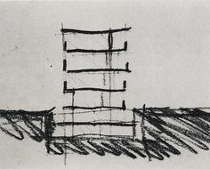 Peter Zumthor: sketches for Kunsthaus Bregenz