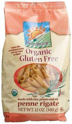 Bionaturae Penne Rigate Pasta Gluten Free (3x12 Oz)