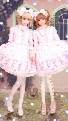 lolitahime:  Eri9ri9non9bear in Tiara Rose