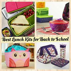 Check out some of the best lunch and snack solutions for 2015 back to school! Fun, vibrant colored products are conveniently sized to make bringing healthy, delicious lunches to school easy! View the entire collection at www.Fit-Fresh.com. #fitfresh