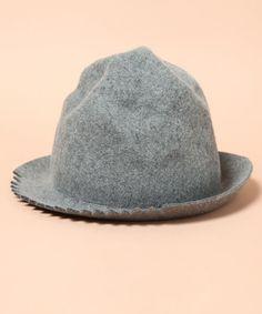AlexanderLeeChang(アレキサンダーリーチャン)のgizagiza hat(ハット)|グレー