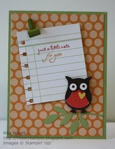 Rita's Creations: Owl Punch