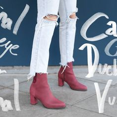 If perfection was a boot.  Introducing our Goldeneye boots in burgundy nubuck.  Ultra lush these beauties are our new favourites.