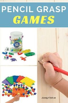 Ever wonder how to help your kids with their pencil grasp development? Why not use a few games for pencil grasp development to help?