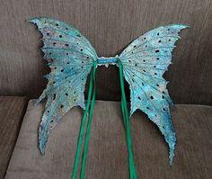 Fairy Wings-Iridescent- Arwen Wings OOAK Fairy Wings Adult Size. $80.00, via Etsy.