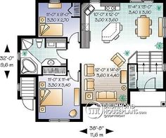 multi family plan w3323b detail from drummondhouseplanscom