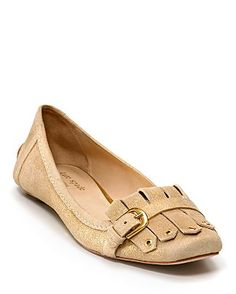 Kate Spade Duffy buckled flats