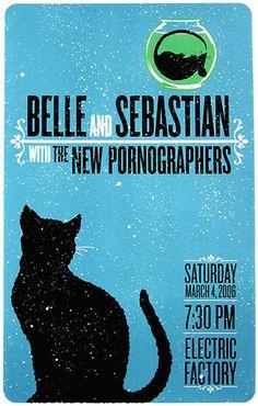 Belle and Sebastian / New Pornographers