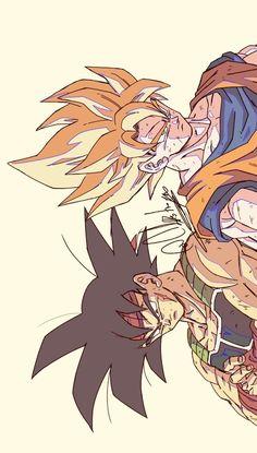 Goku & bardock By: Catdestroyer Memes Dbz, Ball Drawing, Dragon Ball Image, Z Arts, Awesome Anime, Animes Wallpapers, Fan Art, Character Art, Anime Art