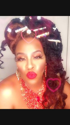 Diy Hair Accessories, Bridal Accessories, First Kiss Quotes, African Love, Bull Horns, Goddess Braids, Black Is Beautiful, Black Girl Magic, Red Lips