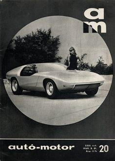1969 Opel CD  (Coupé Diplomat). Autó-Motor, 1969. X. 21.