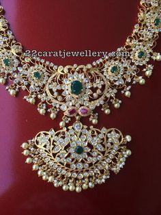 Silver Metal Pachi Work Trendy Necklaces Latest Collection of best Indian Jewellery Designs. Sterling Silver Jewelry, Gold Jewelry, Beaded Jewelry, Jewelery, Clay Jewelry, Silver Bracelets, Bangle Bracelets, Fine Jewelry, Jewelry For Her