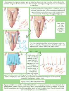 Clothing Folds (Part 1) http://helpyoudraw.tumblr.com/