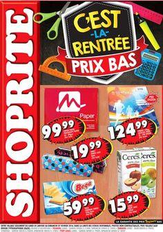 SHOPRITE Hyper eBrochure - C'EST LA RENTREE PRIX BAS: Du 04 Janvier au 07 Février 2016