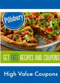 Woot! High value coupons, free samples and access to Pillsbury recipes. #free #coupons