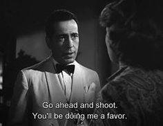 Casablanca (1942) Casablanca Quotes, Casablanca Movie, Casablanca 1942, Classic Movie Quotes, Classic Movies, Classic Tv, Vintage Movie Stars, Vintage Movies, Famous Movies