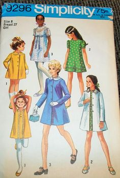 Hey, I found this really awesome Etsy listing at https://www.etsy.com/listing/224183811/vintage-1971-simplicity-9296-sewing