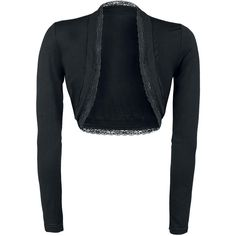 Can I Play With Madness Bolero – Buy now at EMP – More Gothic Romance available online - Unbeatable prices! Gothic Shop, Blazers, Lace Bolero, Dress Sewing Patterns, Alternative Fashion, Backstage, What To Wear, Leather Jacket, Clothes For Women