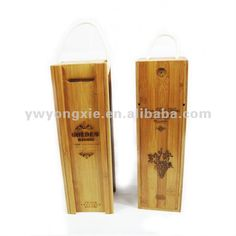 Wooden Box For Wine Packaging