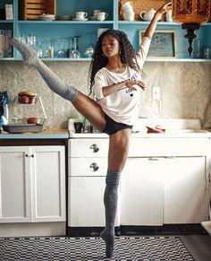 """Dance is the hidden language of the soul and body."" //  @rachardwolf @narstarr #blackgirlsdoballet #blackdancers #blackgirlmagic #blavitylife by blavitylife"
