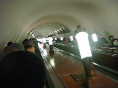 Metro in Moskau - Russland