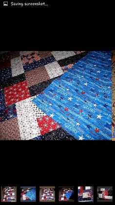 USA Americana quilt Warm, Quilts, Blanket, Usa, Quilt Sets, Blankets, Log Cabin Quilts, Cover, Comforters