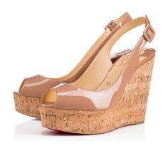 7e71920d5bf4bb Shoes - Une Plume Sling - Christian Louboutin Christian Louboutin Outlet,  Chaussures À Semelle Compensée