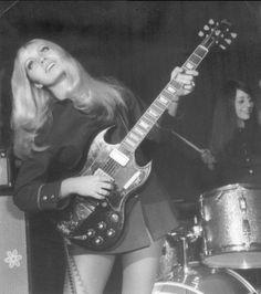 Vintage Girl Bands