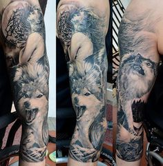 52 full sleeve tattoo
